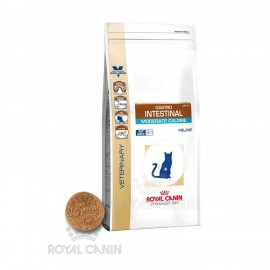 Veterinary Diet Cat Gastro Intestinal Moderate Calorie Sac de 4 kg