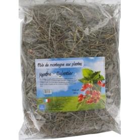 Foin aux plantes : Menthe et églantier - 500 g