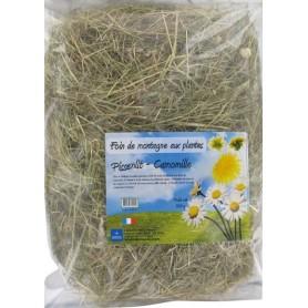 Foin aux plantes : Pissenlit et Camomille