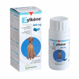 ZYLKÈNE 450MG (chiens de plus de 30kg) 30 gélules Vétoquinol