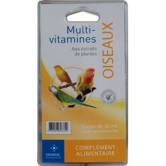 Multi-vitamines oiseaux - Flacon de 30 ml