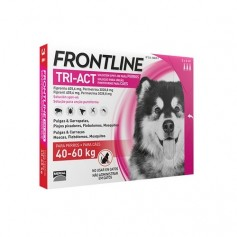 Frontline tri-act chien XL
