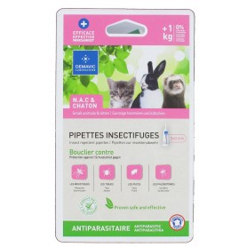 Pipette insectifuge chaton et NAC