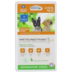 Pipette insectifuge petit chien et chiot