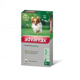 Advantix 40 très petit chien boîte 0,4 mL