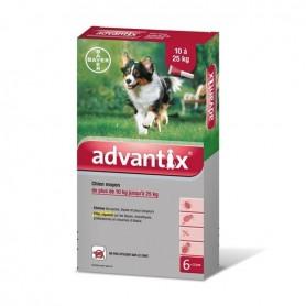 Advantix 250 chien moyen boîte 2,5 mL